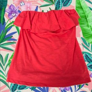 Lily Pulitzer Hot Pink Tube Top